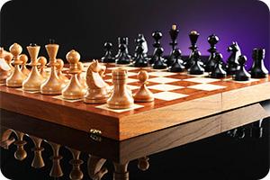 Шахматы ретро 60-х (40х40см)