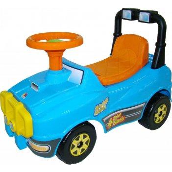 62840 molto автомобиль джип-каталка (голубой)