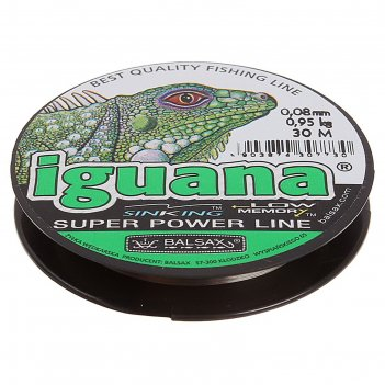 Леска iguana 0.08 30м