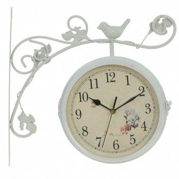 Часы настенные декоративные двусторонние, l31 w8,5 h31 см, (2xаа не прилаг