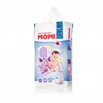 Подгузники-трусики momi high standard l (9-14 кг), 44 шт