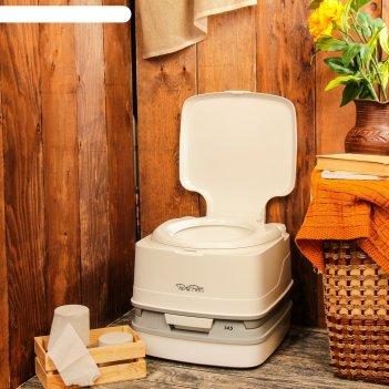 Биотуалет porta potti  qube 145, бак для стоков 12 л, бак для смыва воды 1