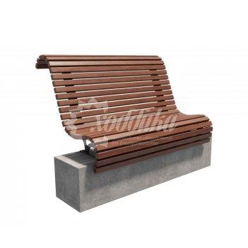 Скамейка «подиум» настил - 1 м.п.