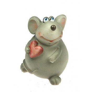 Фигурка декоративная мышка 7*7*10см (уп.4/72шт.)