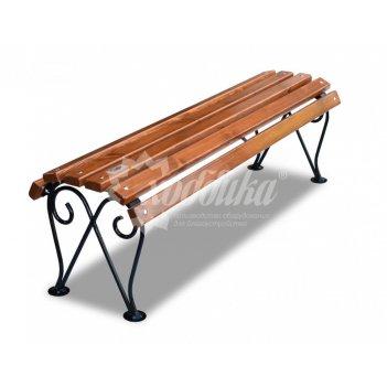 Банкетка кованая «лотос» кресло