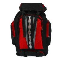Рюкзак тур эверест, 37*15*50см, 1 отд на молнии, 4 н/ кармана, черн/красны