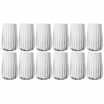 Набор из 12-ти стаканов, объем: 510 мл, материал: хрустальное стекло, сери