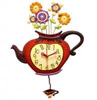 Часы настенные b&s jr1160b/b001 (чайник)