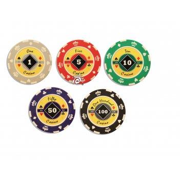 Профессиональные фишки для покера crown 14 гр