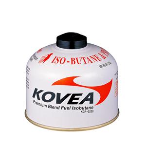 Баллон газовый kovea 230 (резьбовой, клапанный, 230г, до -25c)