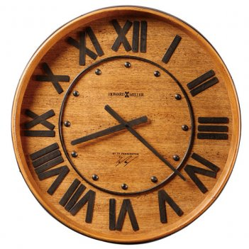 Настенные часы howard miller 625-453 wine barrel wall