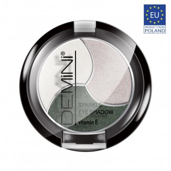 Тени для век demini sparkle eye shadow с витамином е, тон 329