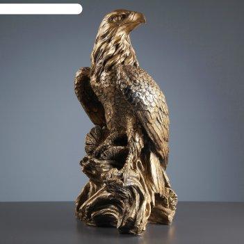 Садовая фигура орел большой бронза