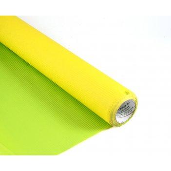 Крафт в рулоне лимонный/салатовый двухстор. 70см*10м