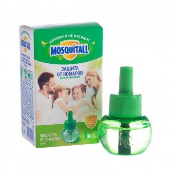 Жидкость mosquitall защита для взрослых от комаров, 30 ночей, 30 мл