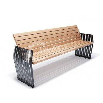 Скамейка уличная «плума» 1,8 м