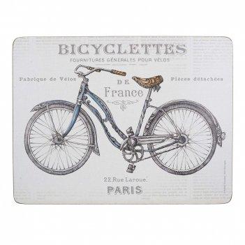 Creative tops набор из 6 подставок bicycle 23x30