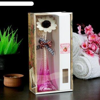 Набор подарочныйэйфелева башня(ваза,2 палочки с шариками,декор,аромамасло