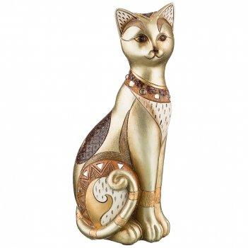 Фигурка кошка 12,5*9,5*28,5 см. коллекция чарруа (кор=12шт.)