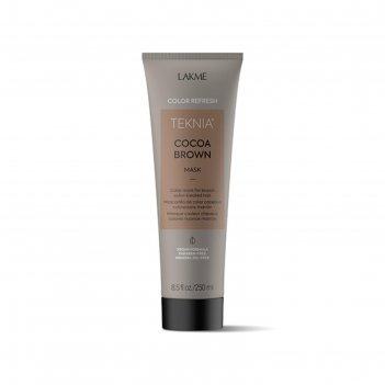 Маска для волос lakme teknia refresh cocoa brown mask обновление коричневы