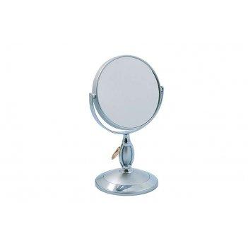 Зеркало* b4906 s3/c silver настольное 2-стор. 3-кр.ув. 12,5