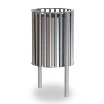 Урна уличная круглая «палермо» объём: 40 литров