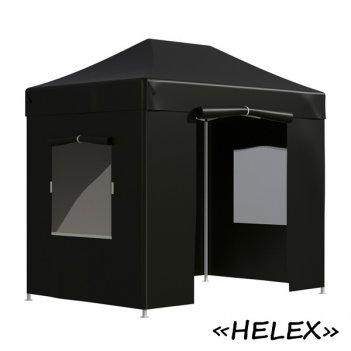 Тент садовый helex 4322 3x2х3м полиэстер черный