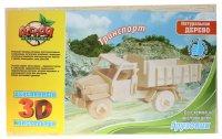Конструктор деревянный 3d грузовик