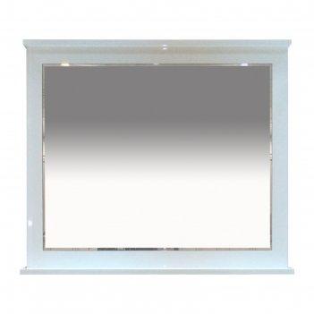 Зеркало гамма -100 белая эмаль