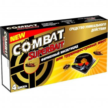 Аэрозоль от насекомых combat super spray, 500 мл