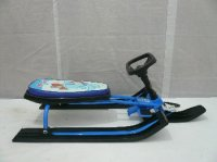 Сн90295, снегокат «смешарики», с гудком (голубой)