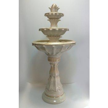 Напольный фонтан «лотос»
