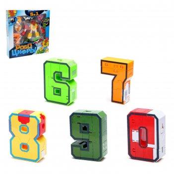 Набор трансформеров робо цифры 6 - 0