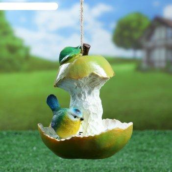 Подвесной декор кормушка груша 13х14см