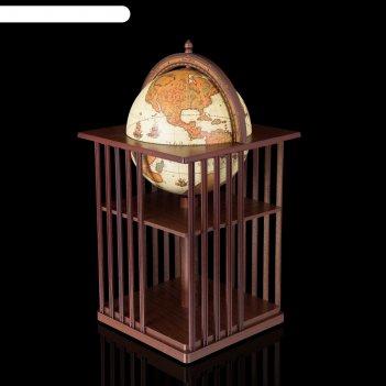 Глобус-бар напольный за гранью, d 40 см
