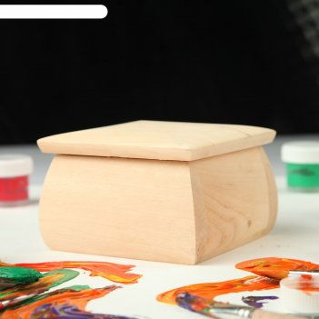 Шкатулка заготовка для декупажа, 11х11х7,5 см