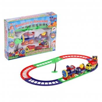 Железная дорога паровозик из ромашкова b199134-r1