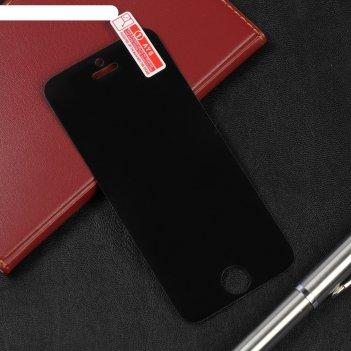 Защитное стекло 3d luazon анти-шпион, для телефона iphone 5/5s/se