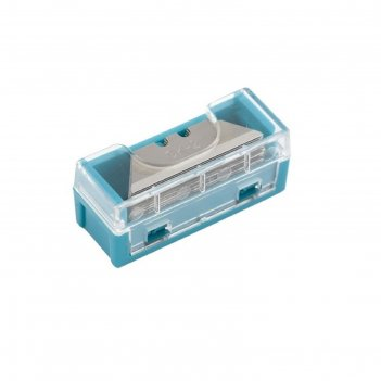 Лезвия gross мини 79373, 9 мм, 15 шт, трапецевидные, пластиковый пенал