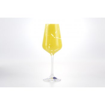 Набор бокалов для вина crystalex bohemia sandra 250 мл(6 шт)