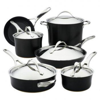 Набор кухонной посуды anolon нувель купер люкс, 11 предметов