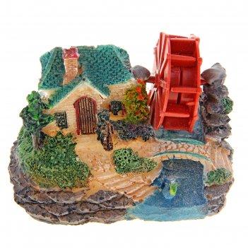 Распылитель домик у реки, 9 х 6 х 6,5 см