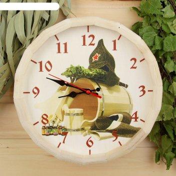 Часы банные бочонок добропаровъ, банька