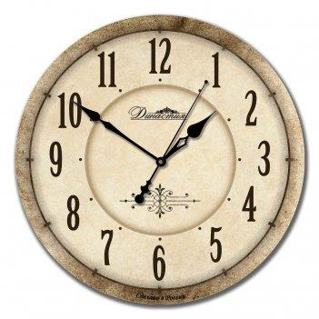 Настенные часы из дерева династия 02-019 классика