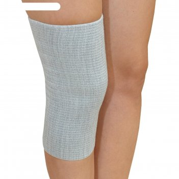 Бандаж для коленного сустава - крейт (№5, серый) f-400
