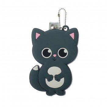 Детские кусачки «котик» с резиновым элементом