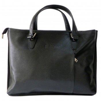 Сумка мужская, 39х6х30 см, отдел на молнии, наружный карман, цвет чёрный ф