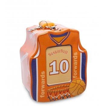 Bx- 24/4 металлическая копилка баскетбол
