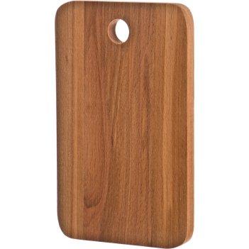 Доска разделочная деревянная бук 26*16*2 см