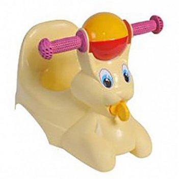 Горшок-игрушка желтый зайчик 2710la-yl